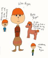 The Many Forms of Ryan by flittingwishes