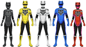 Requested: Wolserker Sentai by Taiko554