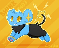 Shinx by Kiminukii