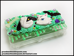Lucky and Whitney 3DS Case by GrandmaThunderpants