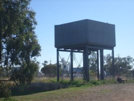 Train Water Tank (2) by jess13795
