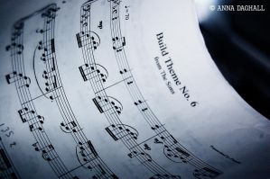 Music Sheet From The Sims by Happysmitten