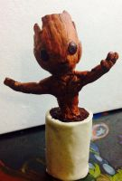 Baby Groot by Rene-L