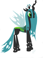 Queen of the changelings by Blindfaith-boo