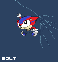 Spindashers: Bolt by thekirbykrisis