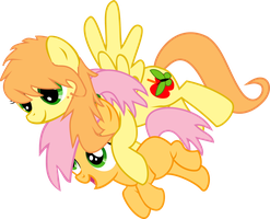 Appleseed and Applecore by asdflove