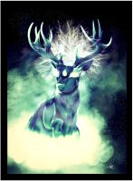 OH DEER GOD by loulaLETHAL