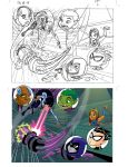 Teen Titans book pt1 by tombancroft