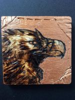 Metallic Wood-Burned Eagle by PantheraCorax