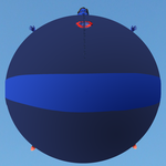 I try to learn to make 3D blueberry inflated body by Magic-Kristina-KW