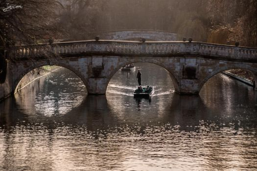 The canals of Cambridge by JuanChaves