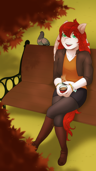 Comm: Nice Autumn Day by Miss-Sheepy