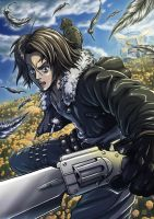 Squall Final Fantasy VIII by Carlotus