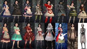 American Mcgee Alice Madness Returns Costumes by NapalmRed