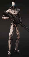Drone 04: The Sniper by MikeJensen