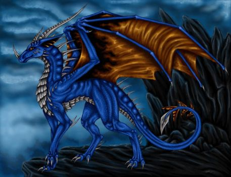 Dragoness of Lightning by Selianth