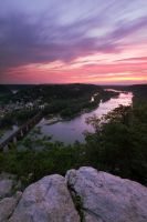Harpers Ferry Sunset 2 by Mashuto