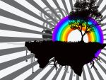 rainbow in the dark by bomm2hell