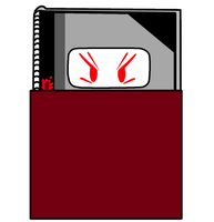 Notebook As A Vampire Vector by thedrksiren