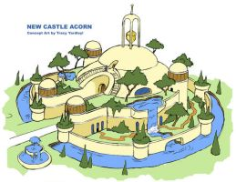 Castle Acorn concept by Yardley