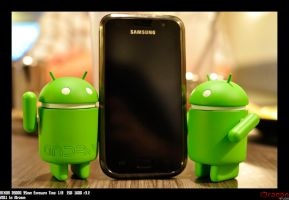Android With Samsung Galaxy S by iDragon88