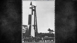 3RD REICH LW German V-2 rocket at Cuxhaven, 19 by PanzerBob