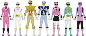 Extra Ranger Project, Final Set by Taiko554