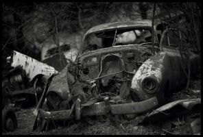 car cemetery- part 4 by kingpixx