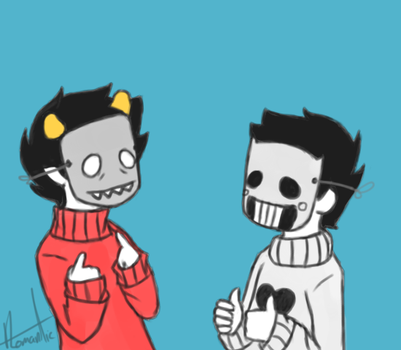 Kankri and Zacharie by QuiteRomantic