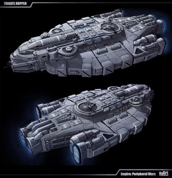 Frigate Rupper by KaranaK