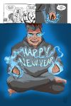 Happy New Year! My final daily draw for 2012! by LineDetail