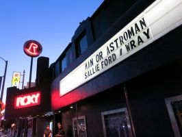 The Roxy Theatre Marquis: Man or Astro-man? by iancinerate