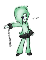 Green Flare Chibithing by Astralstonekeeper