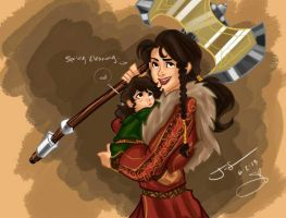 Kili And Dis by J-Spence