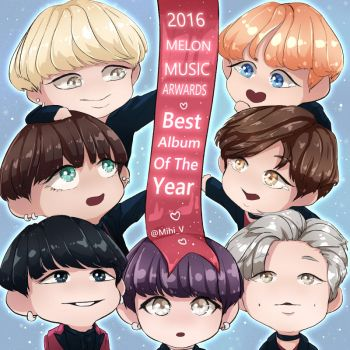 BTS MMA Best Album Of The Year by Hyemi1230