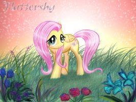 Fluttershy-My Little Pony by 1234LERT7Nan2