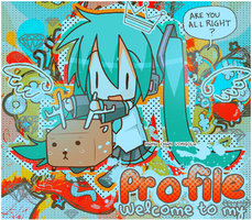MIKU Welcome banner by hanachanvongola