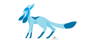 Glaceon by The-stray-cat