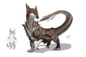Dragon Chiron by Namh