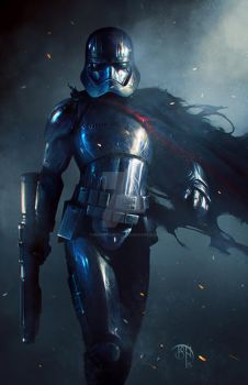 Captain Phasma by BennyKusnoto