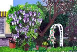 Our garden by kine80