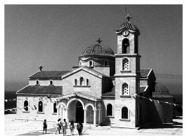 Agios Raphael Church by Neeeksy