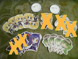 Stickers left by tsubasahiluxisz