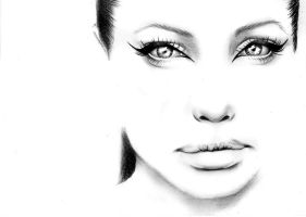 Angelin Jolie crazy eyes by soooty