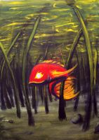 blind carp by chik-a-dee