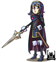 Gals of Gaming: Lucina by zeratanus