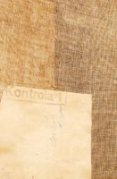 old paper on fabric by coVasderooH