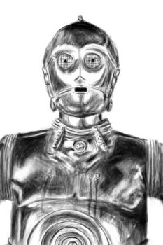 C3PO by waymanate