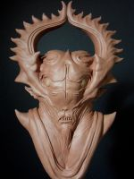 Better shot of the mystic being sculpt by barbelith2000ad