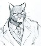 Blacksad Sketch by samuraidwight